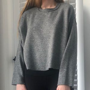 Zara Oversized Crewneck Sweater